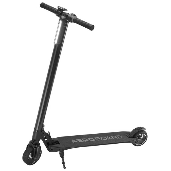 Black Folding Electric Kick Scooter with LED Display